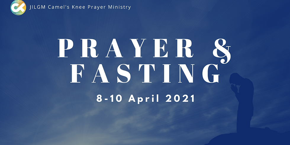 Prayer and Fasting for April 2021