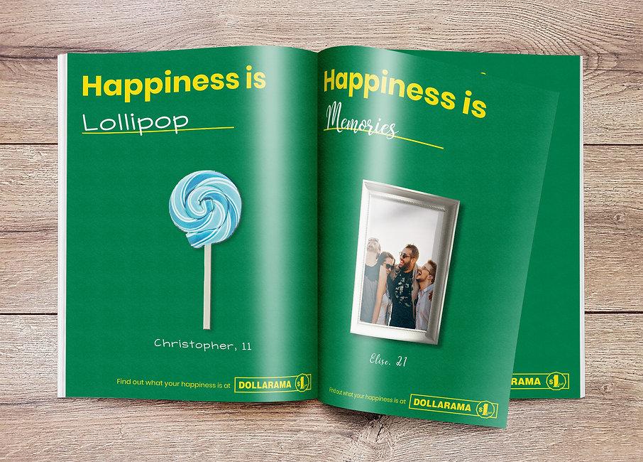 Dollarama Ad In Magazine