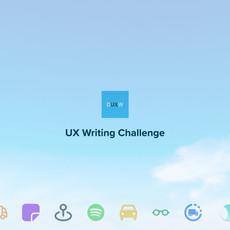 UX Writing Challenge