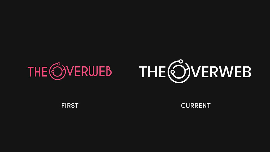 The Overweb Past and Current Logo