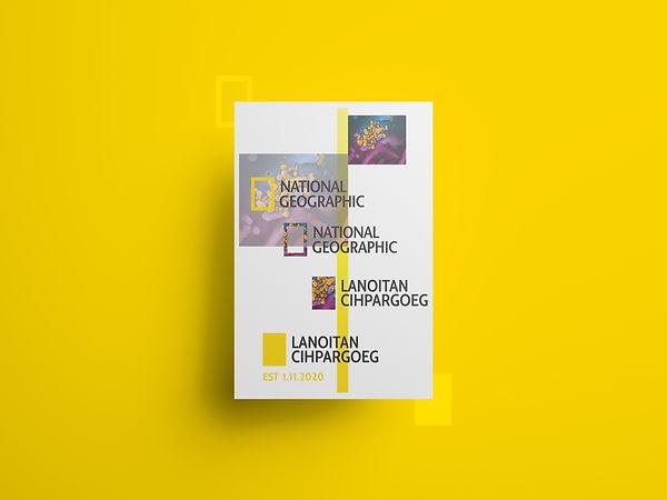 National Geographic Logo Transformation