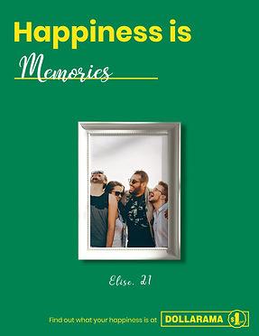 Dollama Memories Poster Ad