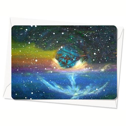 Postkaart Cosmic Alignment