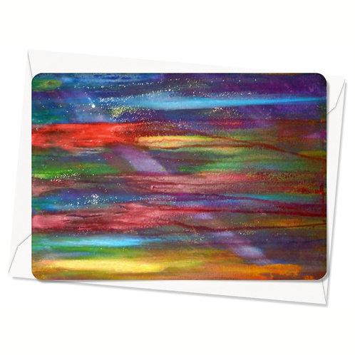 Postkaart Sea of Colors