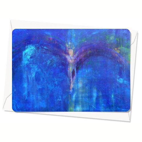 Postkaart Unfolding Wings