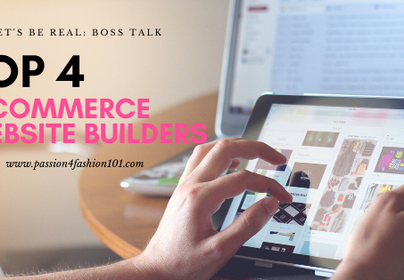 Let's Be Real: Top 4 Website Builders for Entrepreneurs Launching a Retail Site