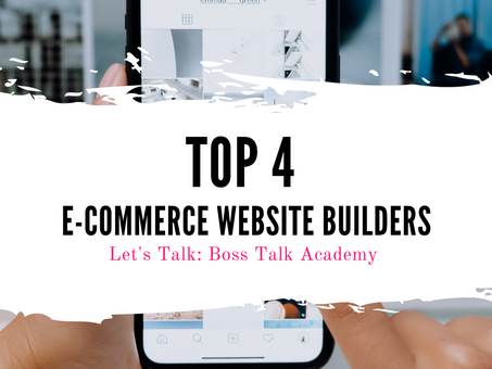 Top 4 Website Builders for Entrepreneurs Launching a Retail Site