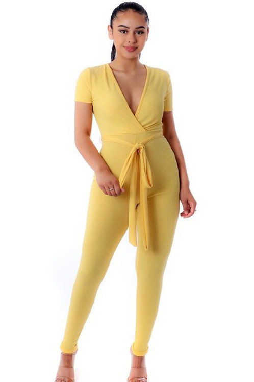 MISSING YOU RIB JUMPSUIT