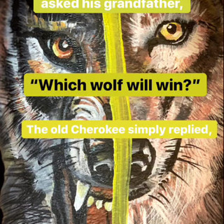 The good & the bad wolf