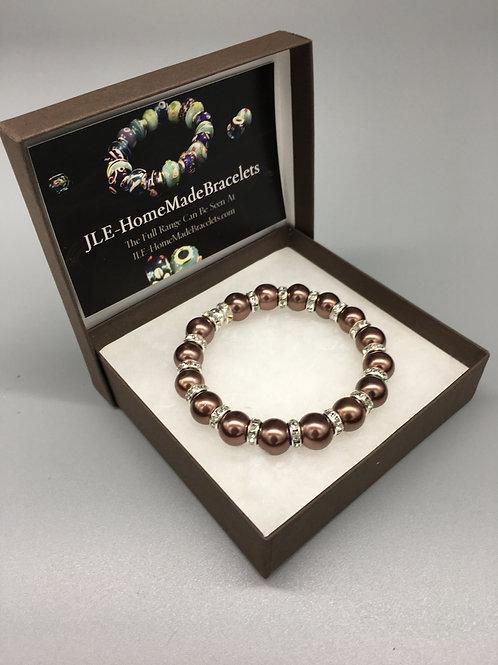 10mm Bronze Dimontie Bracelet.