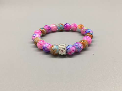 Childs Marble Effect Bracelet
