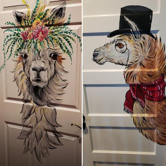 Restroom Llamas 2019