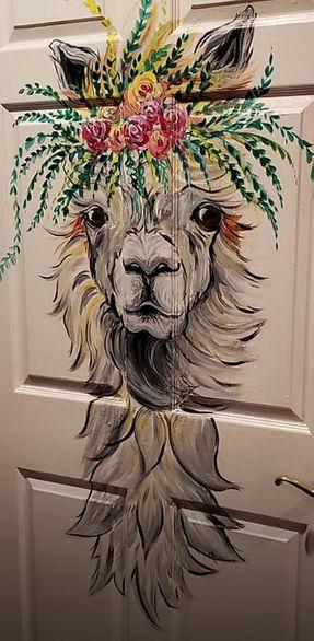 Llama Door