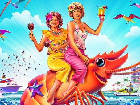 """""""Barb and Star Go to Vista del Mar"""": a comedy that breaks all the right rules."""