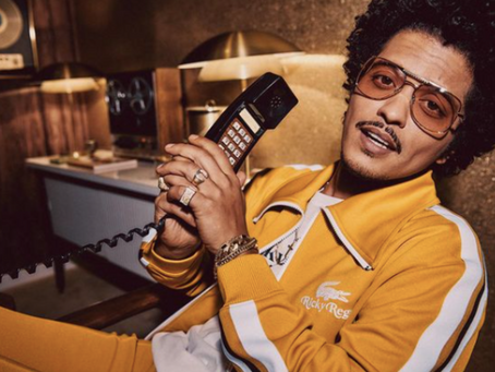 Lacoste X Ricky Regal: The Bruno Mars fashion collection