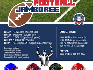 PEE WEE FOOTBALL JAMBOREE