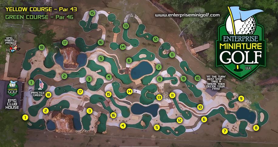 Green Course & Yellow Course