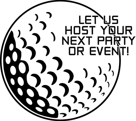 Let us host your next party or event!