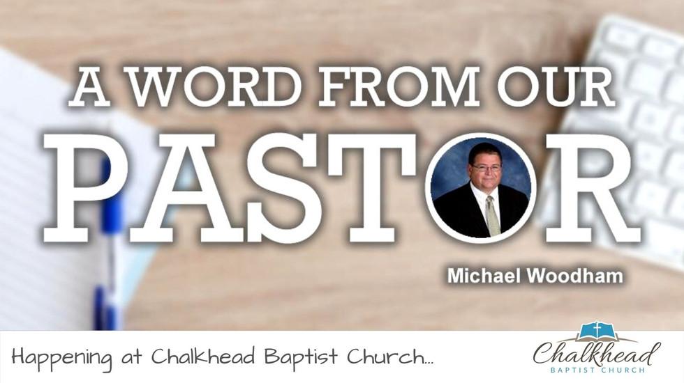 CHALKHEAD BAPTIST CHURCH