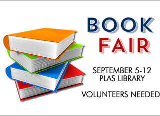 BOOK FAIR - September 5-12, 2017
