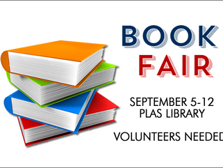 BOOK FAIR - September 5-12, 2017