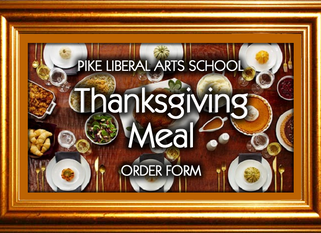 Join us at PLAS for Thanksgiving Lunch - November 14, 2017