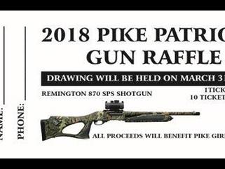 PIKE LIB Gun Raffle...