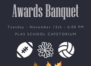 Fall Sports Awards Banquet