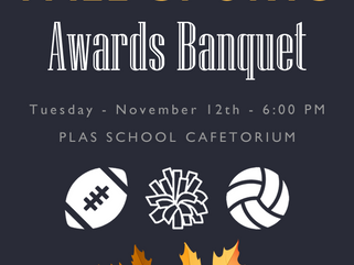 Fall Sports Awards Banquet