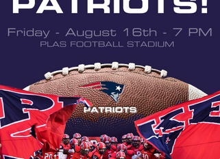 Meet the Patriots - Aug. 16th @ 7:00 PM