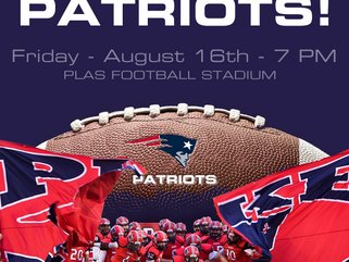 Meet the Patriots - Aug. 16th @ 7:00 PM