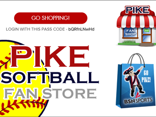 PIKE Softball Shop - Now Open! Closes on November 17, 2017
