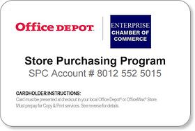 Enterprise Chamber Of Commerce Office Depot Discounts