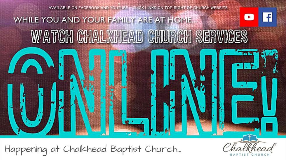 CHALKHEAD SERVICES ONLINE!