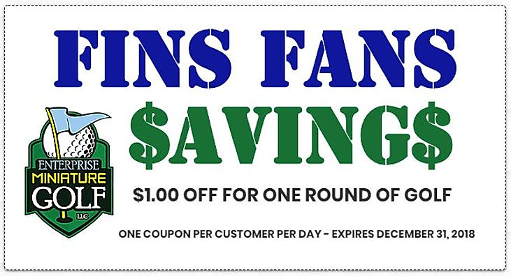 FINS FAN COUPON