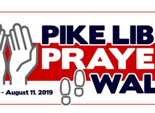 """PIKE LIB """"PRAYER WALK"""" - Aug. 11th @ 5:00 PM"""
