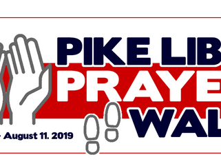 "PIKE LIB ""PRAYER WALK"" - Aug. 11th @ 5:00 PM"