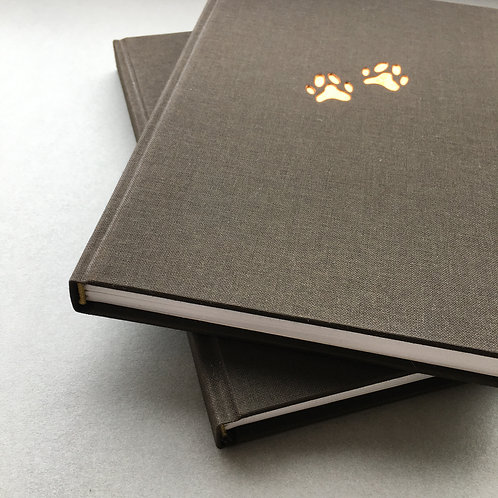 A5 Paws Notebook