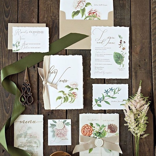 Vellum country garden