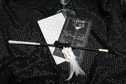 Cocktail Menu / cigarette holder
