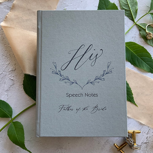 A6 Father of the Bride Notebook