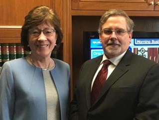 PIONEERS OF HOPE: Doug Oliver's Interview with U.S. Senator Susan Collins