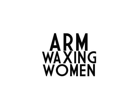 Arm Waxing (Women)