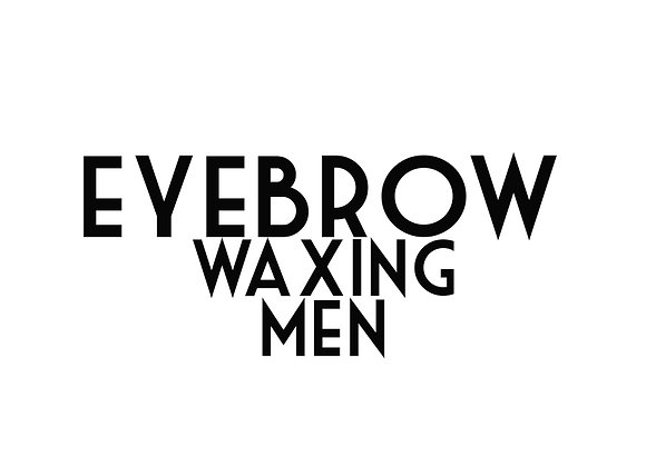Eyebrow Waxing (Men)