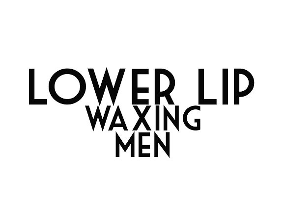 Lower Lip Waxing (Men)