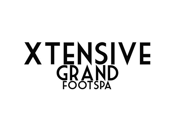 XTENSIVE Grand Foot Spa W/ Treatment