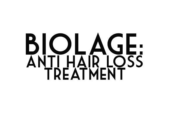 Biolage: Anti Hair Loss Treatment
