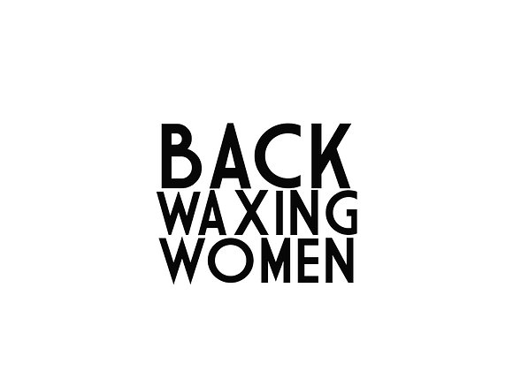 Back Waxing (Women)