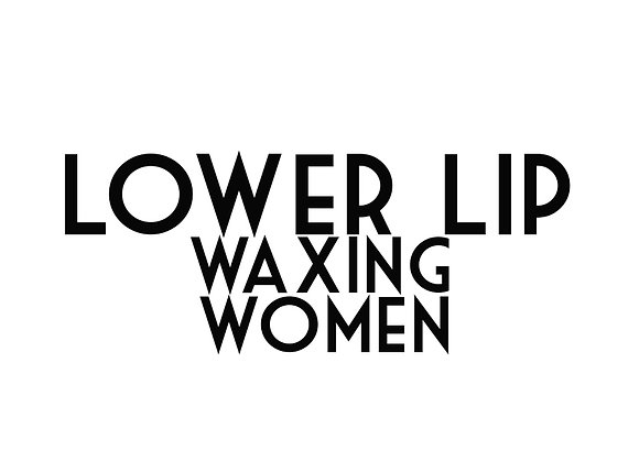 Lower Lip Waxing (Women)