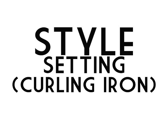 Style Setting (Curling Iron)
